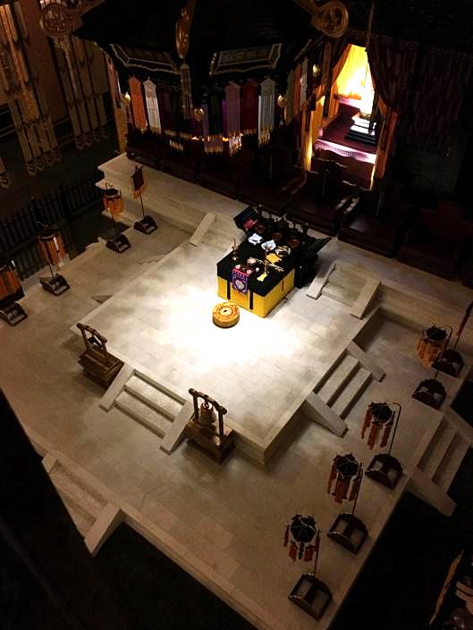 崇禧殿内的汉白玉法坛将会是授箓法会中《登坛度箓》的举行场所