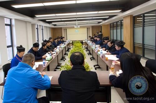 中国道协九届四次会长会议在云南昆明召开