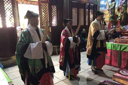 云南道教界庆祝昆明龙泉观开光酬神法会·开启科(视频)