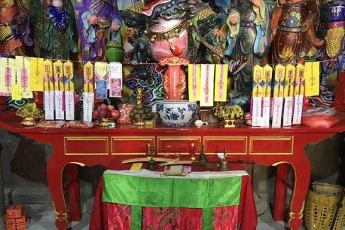 云南道教界庆贺昆明龙泉观开光酬神法会·送圣科(视频)