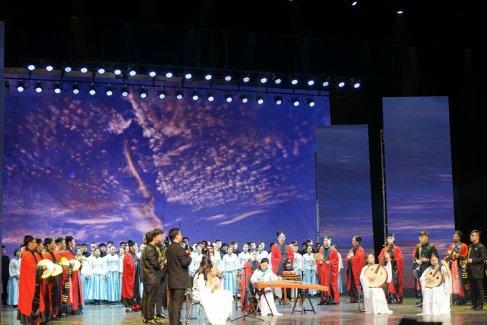 """""""三秦道乐·汉风唐韵""""陕西省道协成立30周年音乐会(图集)"""