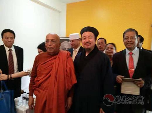 中国宗教和平委员会到孟加拉国进行宗教交流