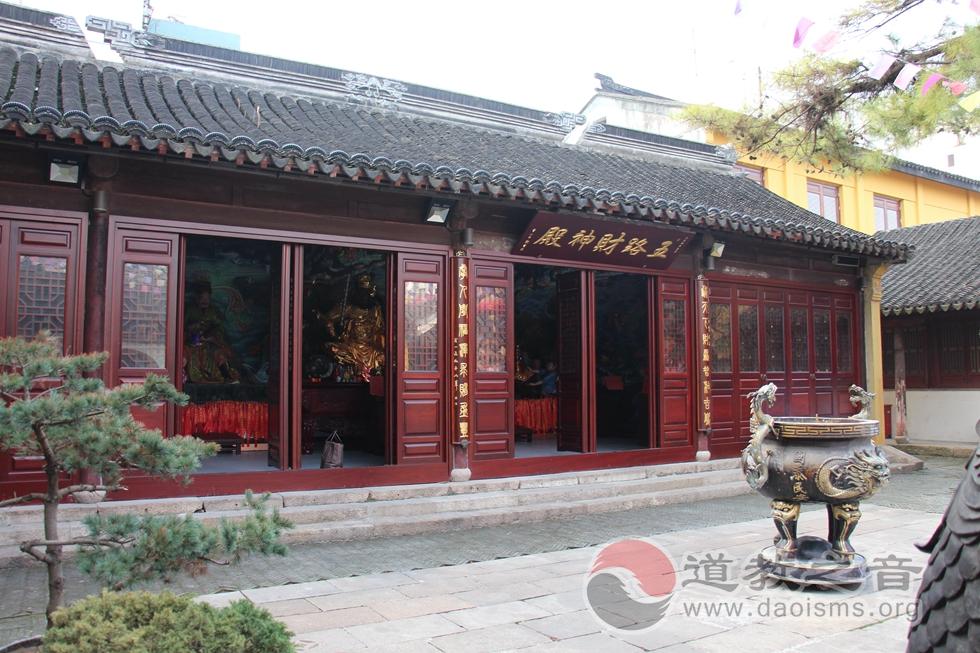 江苏苏州城隍庙五路财神殿
