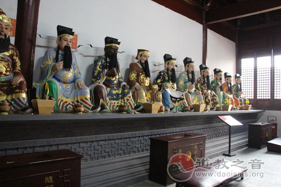 江苏苏州城隍庙城隍殿