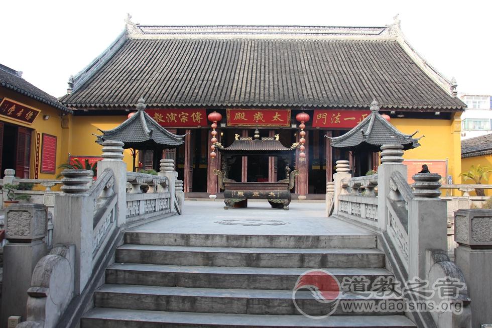 江苏苏州城隍庙太岁殿