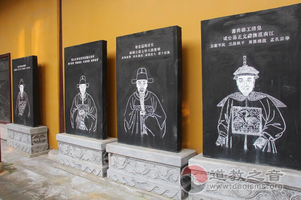 江苏苏州城隍庙石碑