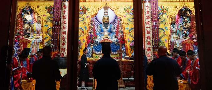 云南道教界慶祝昆明龍泉觀開光酬神法會