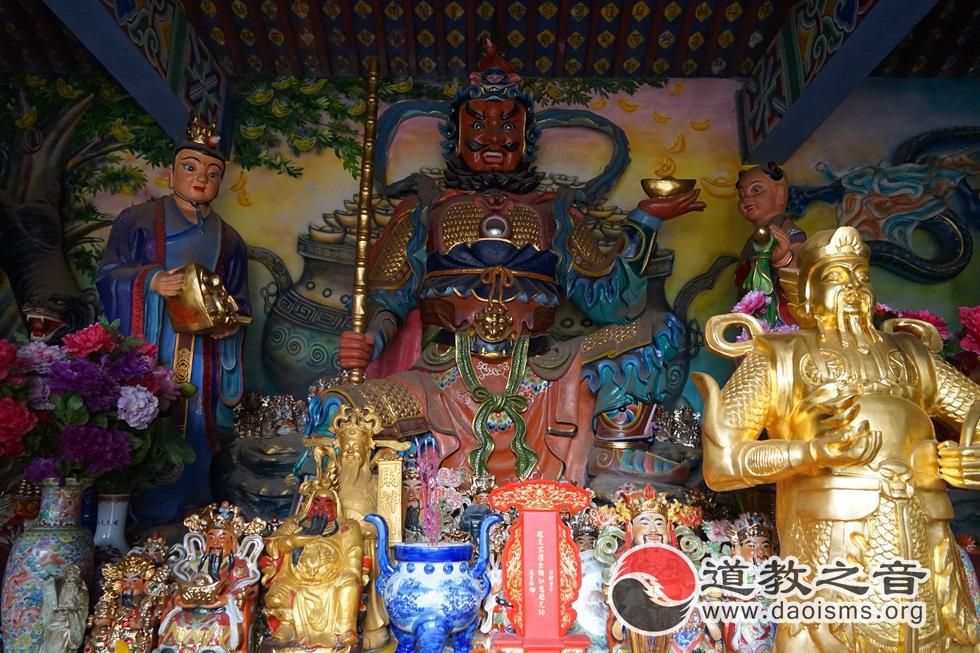 昆明万寿宫财神殿