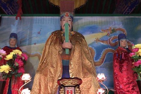 河北邢台南和东岳庙隆重举行圣像开