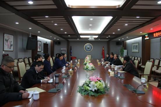 中央统战部常务副部长张裔炯慰问中国道协