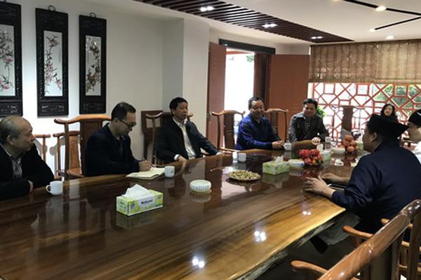 广东省广州市民宗局领导走访部分道教场所
