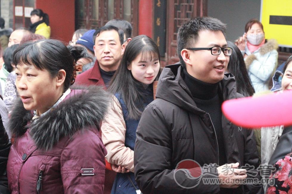 陕西西安万寿八仙宫举办上元佳节传统庙会
