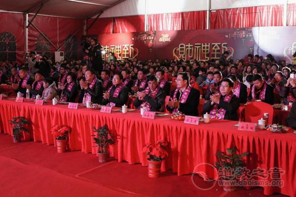江苏苏州市城皇山道院举行迎财神系列活动