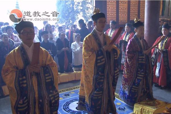 湖北咸宁太乙观救苦天尊圣诞暨神像开光祈福法会