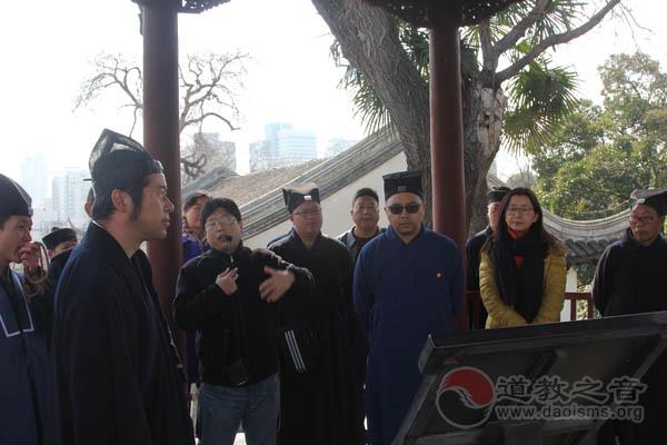 云南道教朝圣团赴江苏南京朝天宫参访交流