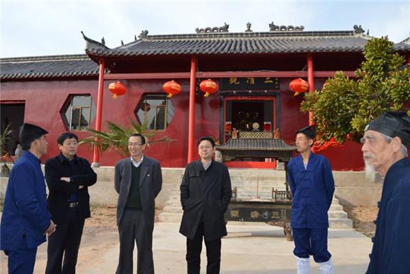 安徽省宗教局副局长到合肥市调研宗教工作