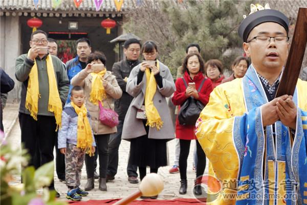 陕西省骊山人祖庙举行功德林启动仪式