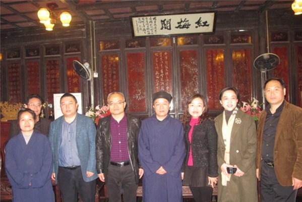 国宗局办公室主任陈红星率三都考察团到浙考察