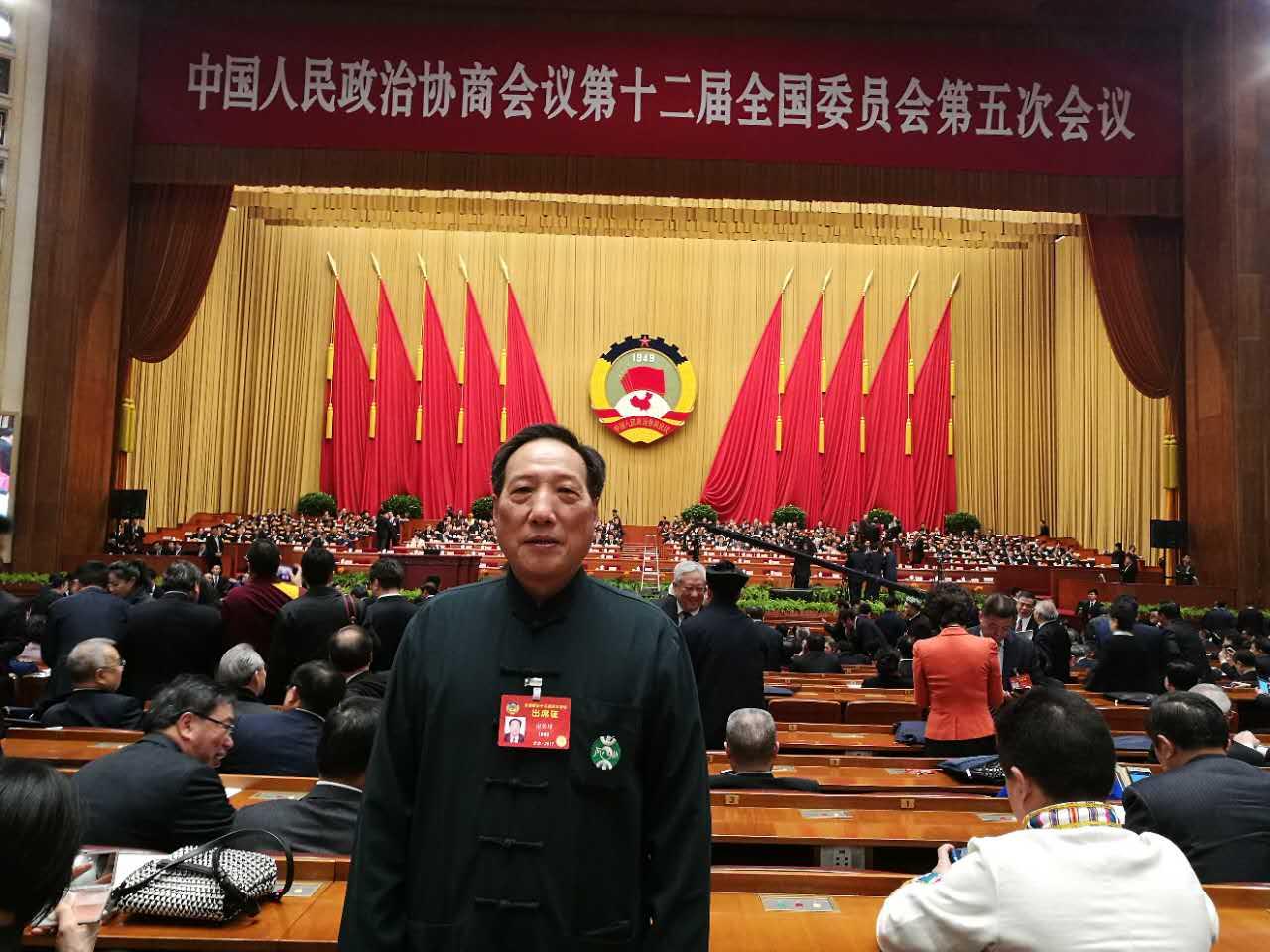 全国政协委员、中国道教协会副会长、福建省道教协会会长谢荣增道长