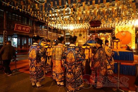 上海城隍庙隆重举行玄元降圣节金箓