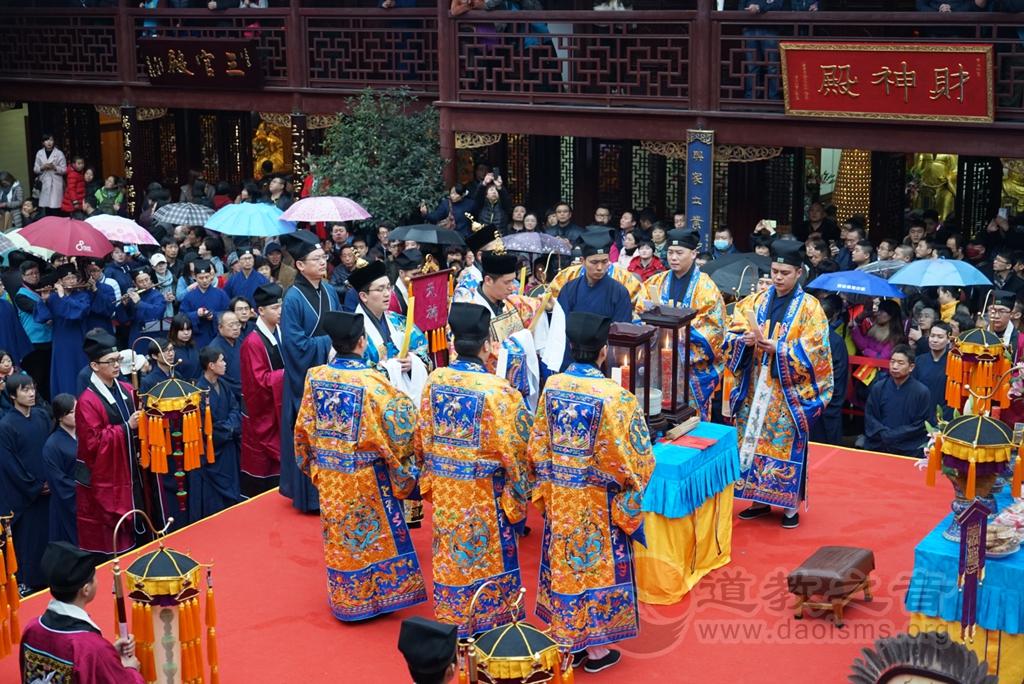 上海城隍庙隆重举行玄元降圣节金箓大斋系列活动