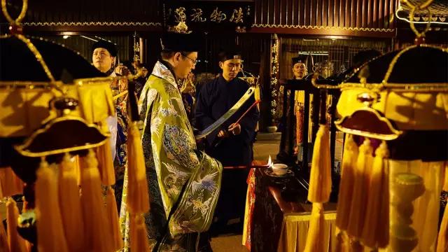 玄元降圣节:上海城隍庙降圣节前夜神秘的老君降生仪典