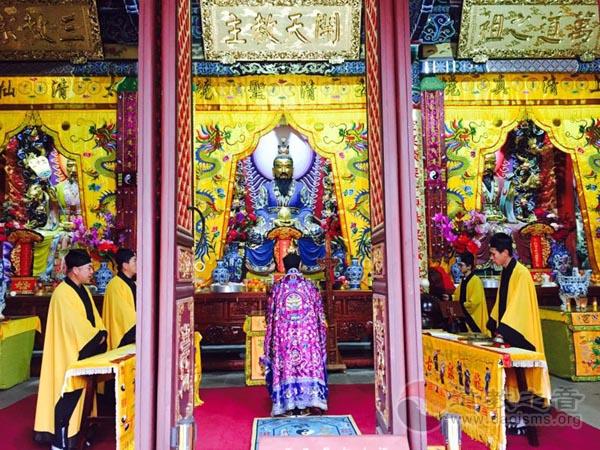 云南省道教界隆重举办庆祝道祖圣诞法会