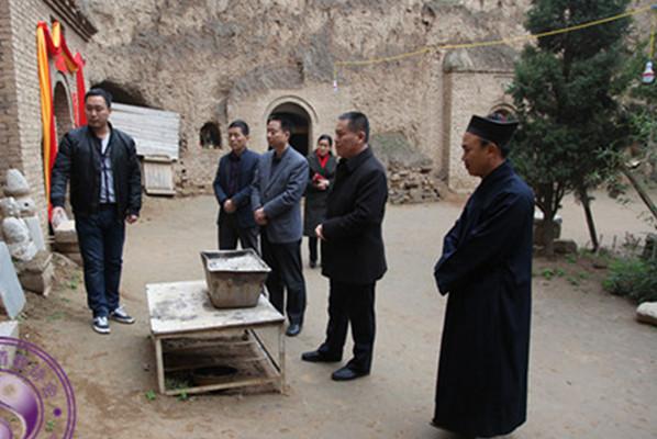 陕西省宗教局副局长李晓建到咸阳正阳宫调研