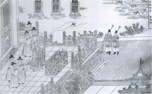 钦安殿平面图