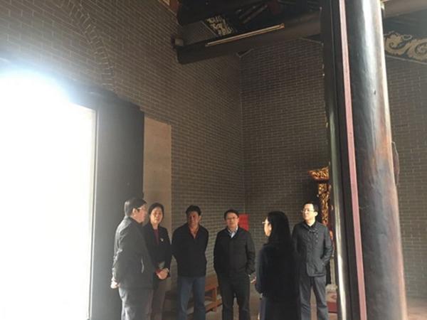 广州市民宗局副局长到北帝庙进行指导检查