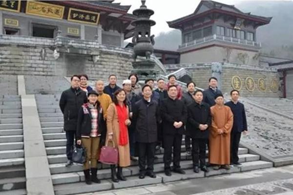 镇江市政协民宗侨联联系组代表到茅山视察