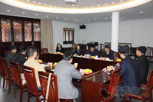 江苏苏州市人大常委会副主任顾月华一行调研玄妙观