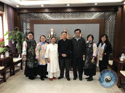 中国道协领导会见