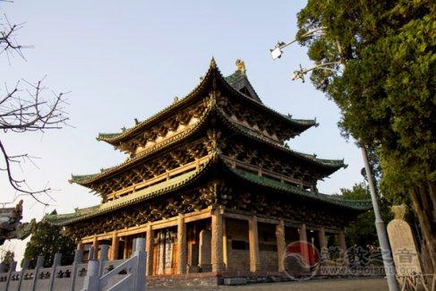 阳台宫玉皇阁廊柱