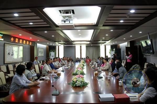 中国道协副会长黄信阳道长会见台湾北投慈生宫参访团