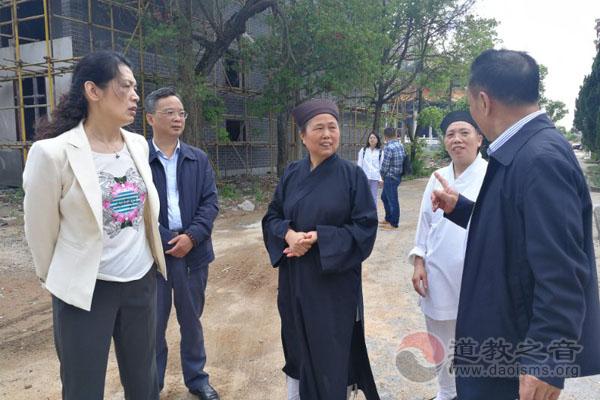 湖南政协民宗委调研基层宗教场所公共安全管理