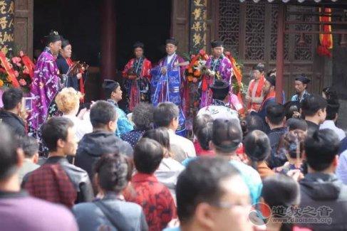 陕西西安八仙宫举行吕祖诞辰1219周年千人祈福法会