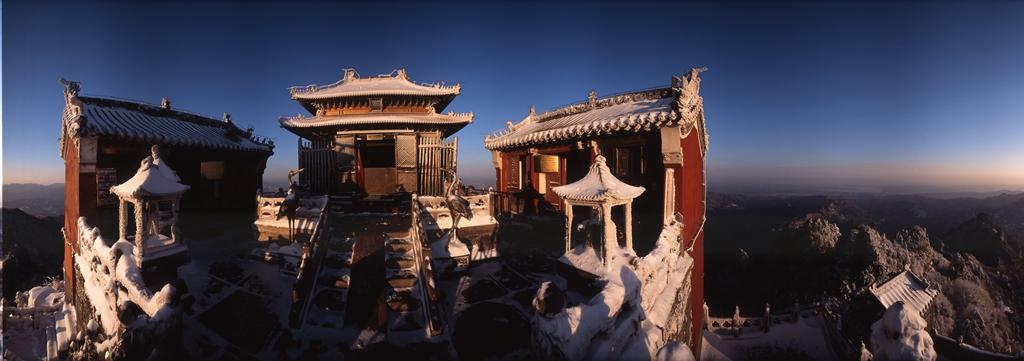 铜质典藏:大岳武当(摄影:徐增林)