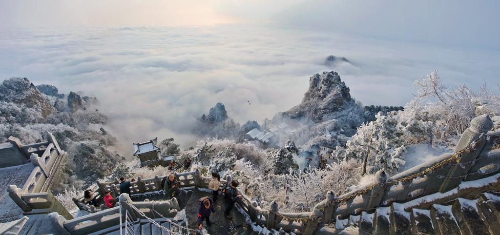 123优秀作品:太岳美景胜仙境(摄影:滕曼瑜)