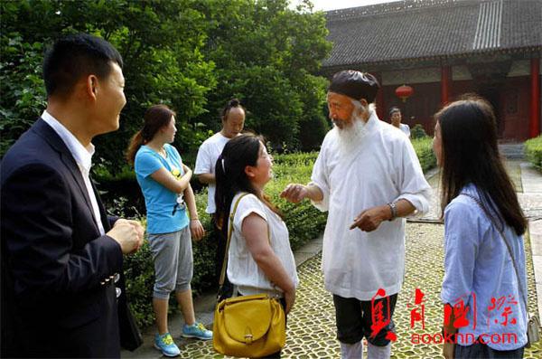 北京奥肯国际创始人李宗虎拜访任法融道长