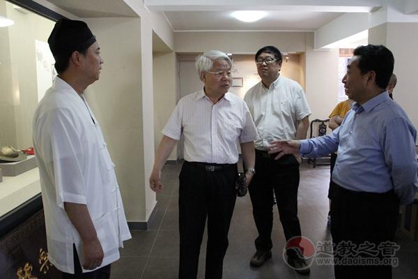 全国政协外事委员会副主一行调研西安都城隍庙鼓乐社