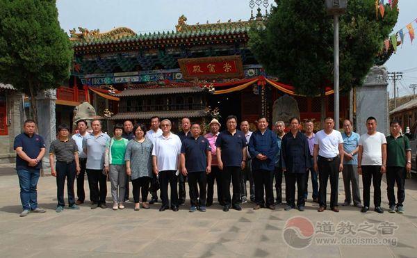 山西解州陕西榆林两地关帝庙携手弘扬关公文化
