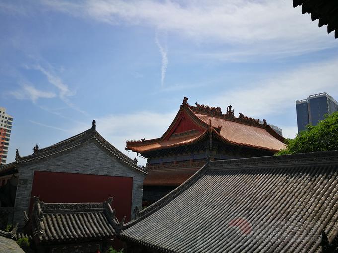 陕西咸阳中五台道观