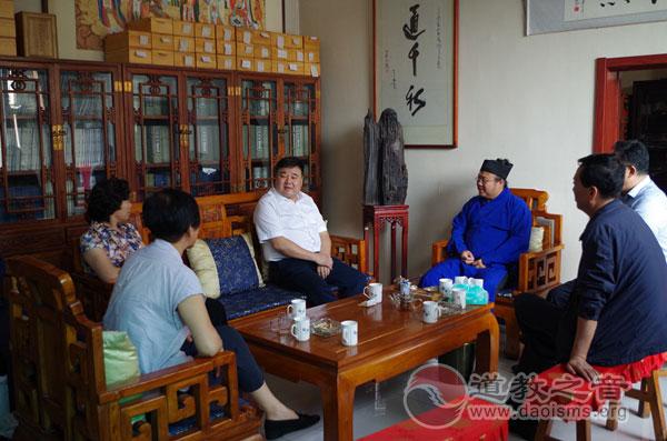 山西省太原市委统战部调研太原市道教协会