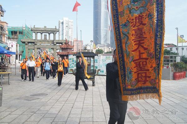 福建厦门朝宗宫妈祖从台南大天后宫圣驾回銮