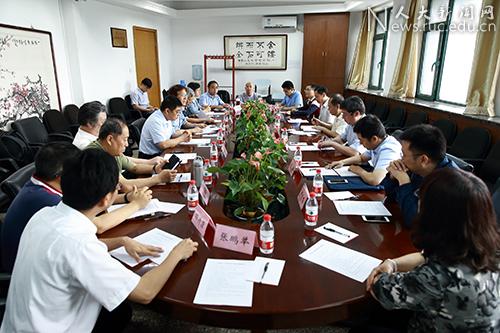 中央宗教工作专项调研组到中国人大检查指导工作