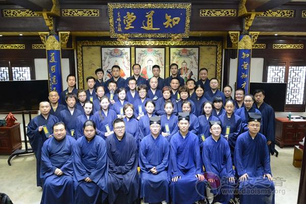 上海城隍庙为皈依弟子举行一系列普道活动
