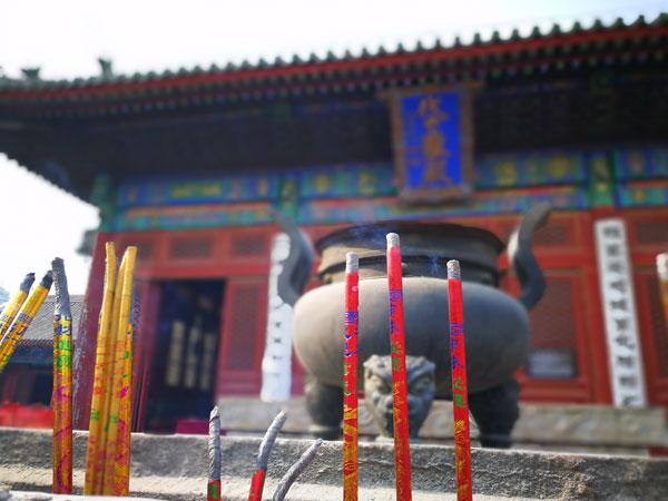 清代北京东岳庙的修缮