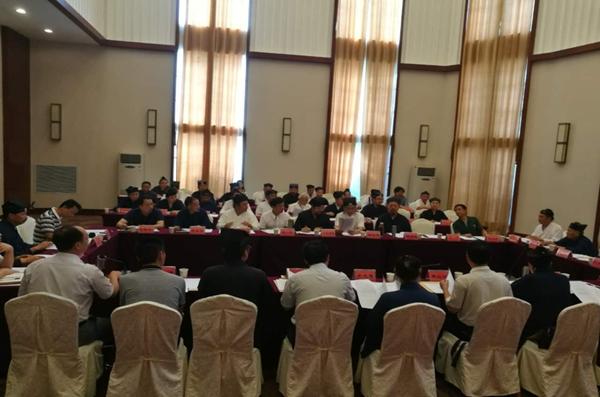湖北省道教协会召开第四届四次常务理事会议