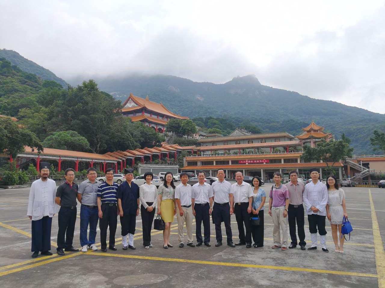 国家宗教事务局对广东道教学院开展审核验收工作